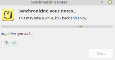 syncing TomBoy Notes using SSH in Linux Mint