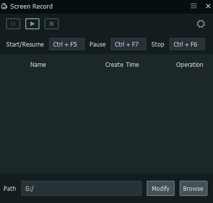 configuring screen recorder in MEmu Player