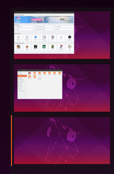multiple workspaces in Ubuntu 19.04