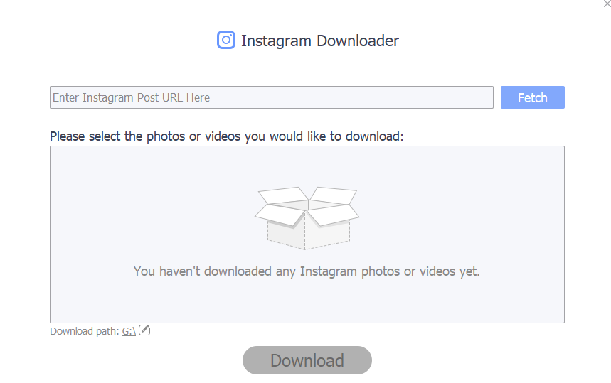 Instagram Downloader in  IOTransfer 3