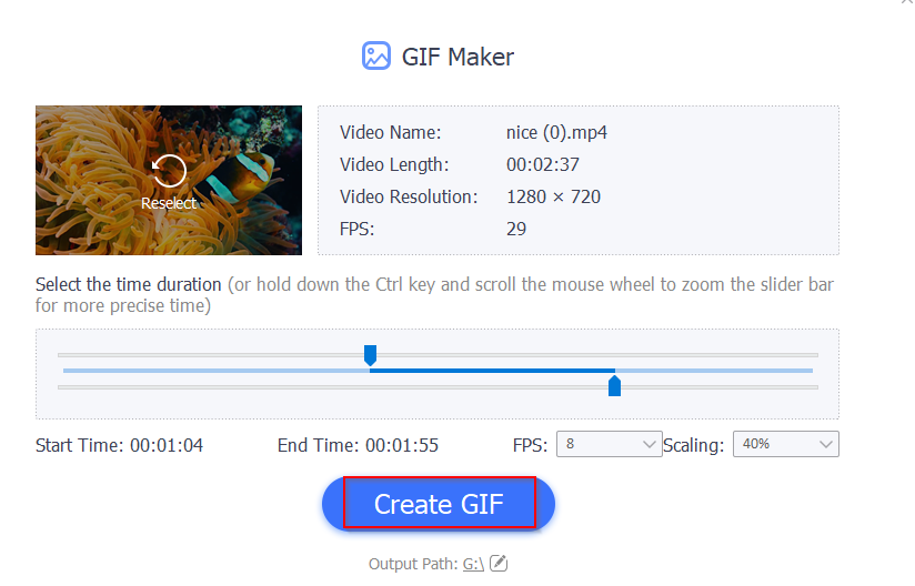 convert videos to GIF using  IOTransfer 3