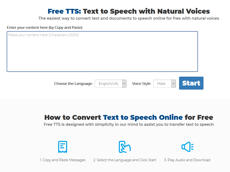 Convert Text To Speech In Different Languages Using This