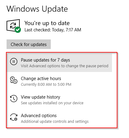 new features to windows 10 updates 1903