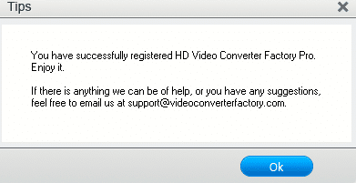 HD Video Converter Factory Pro giveaway version activated