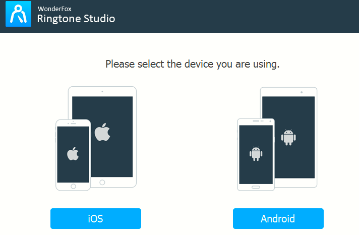 choosing the mobile platform for creating ringtones in HD Video Converter Factory Pro