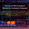 WonderFox Halloween Giveaway party