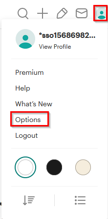 accessing pocket account options