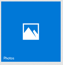 Windows 10 Photos app tile