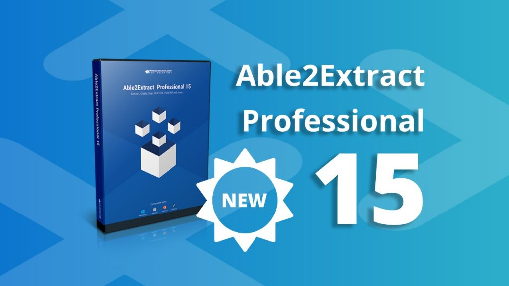 Able2Extract Professional 15 logo