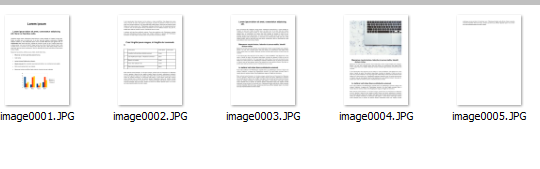 document pages converted to images using Batch Word to JPG Converter