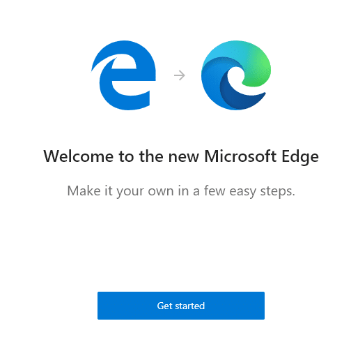 upgrading existing legacy Edge browser to new version