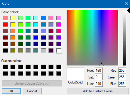customizing the new tab as background color in New Tab Override