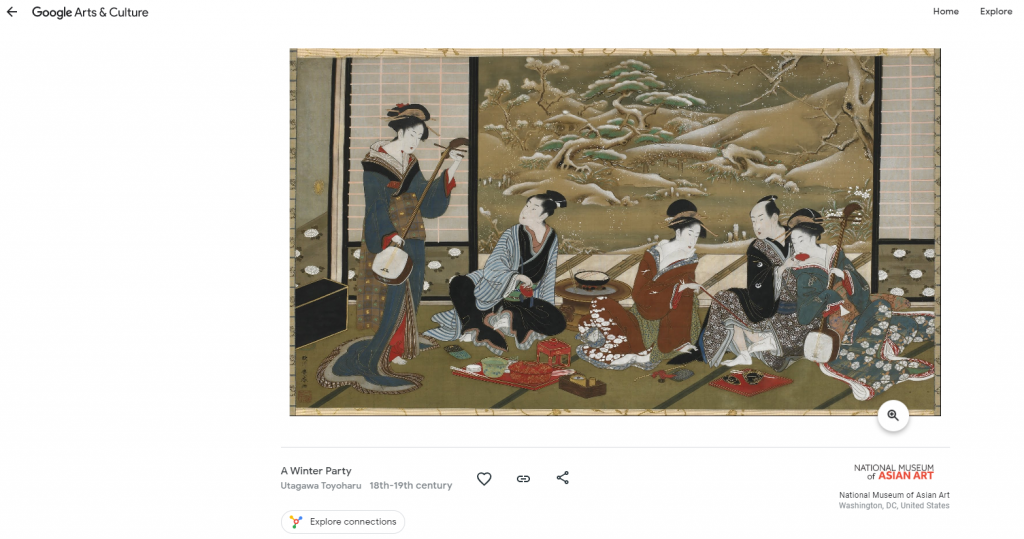 additional details about displayed artwork in new tabs can be found on Google Arts & Culture webpage