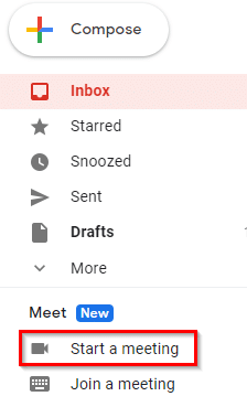 Google Meet added to Gmail