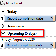 email message converted to calendar event in Thunderbird