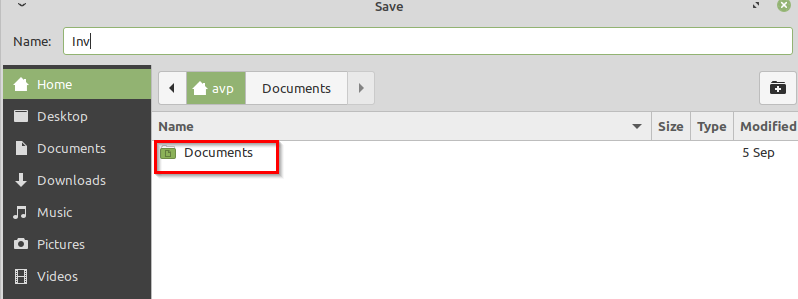 restricted folders access for LibreOffice Writer using Firetools