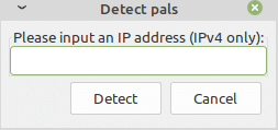 add a LAN ip manually for iptux