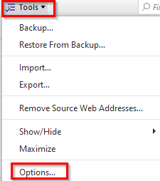 configuring Clippings add-on options