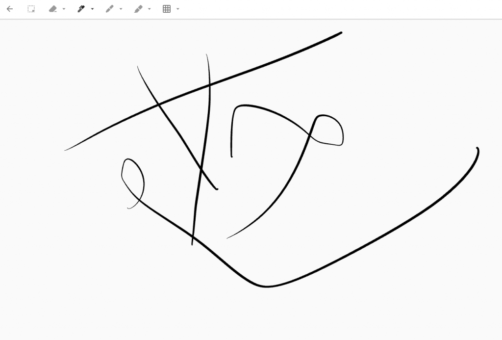 adding a drawing note in Google Keep