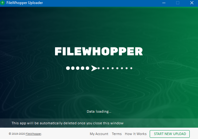 FileWhopper uploader app