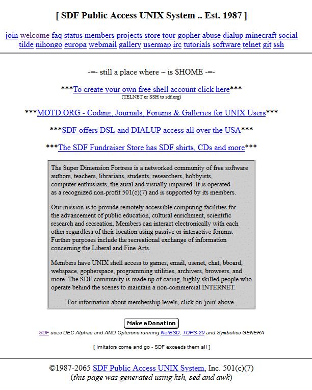 SDF info
