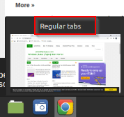 Name of the Chrome window will be visible from taskbar preview