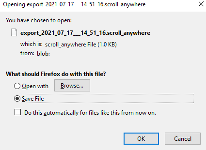 exported file has a .scroll_anywhere file extension