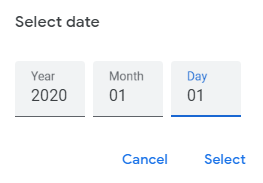 setting a date after which all the google photos are shared with partner