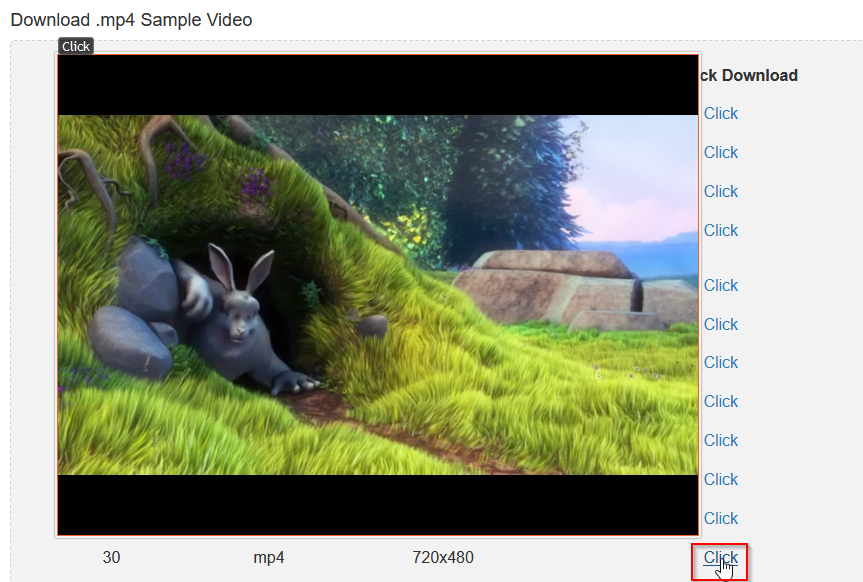 enlarging still image from video links with Imagus