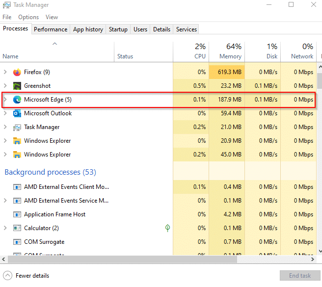 Edge continues to run in the background after it is closed because of Startup boost